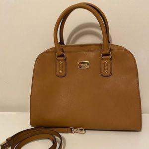 Michael kors saffino large satchel